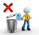 Laptop Mülleimer entsorgen